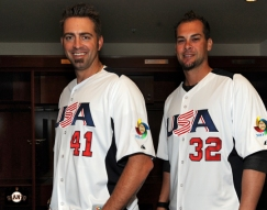 Jeremy Affeldt and Ryan Vogelsong - USA