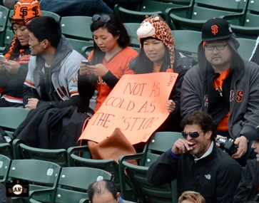 april 12, 2013,sf giants, chicago cubs, photo, fans