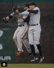 2013 sf giants, april 11, photo, chicago cubs, hunter pence, gregor blanco, angel pagan