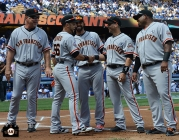S.F. Giants, San Francisco Giants, 2013, photo, Authentic Opening Day, Fans, April 1, 2013