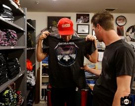 San Francisco Giants, S.F. Giants, photo, 2013, Metallica, Barry Zito