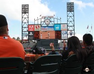 S.F. Giants, San Francisco Giants, 2013, photo, Authentic Opening Day, Fans,