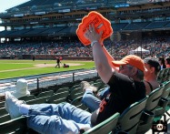S.F. Giants, San Francisco Giants, 2013, photo, Authentic Opening Day, Fans