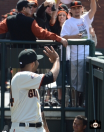 fans, 2013 Opening Day, april 5, at&t park, photo,