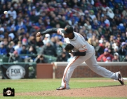 april 13, 2013, sf giants, chicago cubs, wrigley field, photo,