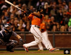 San Francisco Giants, S.F. Giants, photo 2013, Angel Pagan