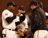 april 20, 2013, sf giants, photo, marco scutaro, dave righetti