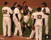 april 22, 2013, sf giants, photo, team, ryan vogelsong, dave groeschner, pablo sandoval, buster posey, brandon crawford, joaquin arias, marco scutaro