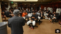 april 23, 2013, sf giants, photo, team, mayor ed lee, jacket presentation