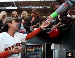 San Francisco Giants, S.F. Giants, photo, 2009, Carlos Santana