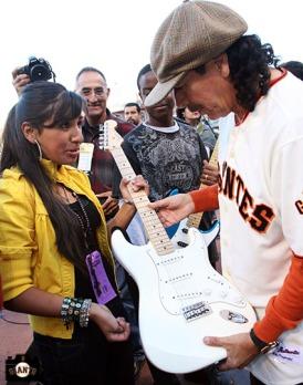San Francisco Giants, S.F. Giants, photo, 2009, Carlos Santana