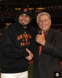 San Francisco Giants, S.F. Giants, photo, Tony Bennett, Sergio Romo, 2011
