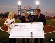 San Francisco Giants, S.F. Giants, photo, Tony Bennett, 2011, Larry Baer