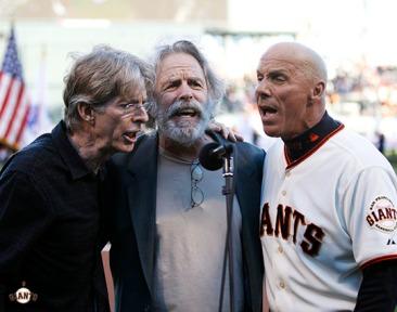 San Francisco Giants, S.F. Giants, photo, 2013, Grateful Dead, Tim Flannery