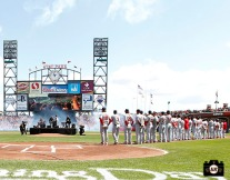 San Francisco Giants, S.F. Giants, photo, 2011, Train