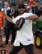 San Francisco Giants, S.F. Giants, photo, 2013, Metallica, Robert Trujillo