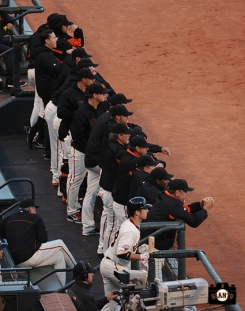 may 9, 2013, sf giants, photo, team, buster posey, bruce bochy