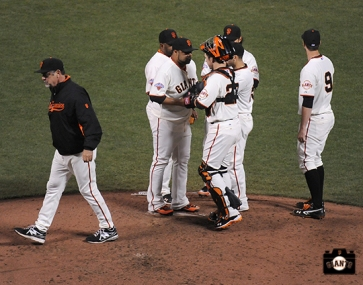 may 9, 2013, sf giants, photo, bruce bochy, team, brandon belt