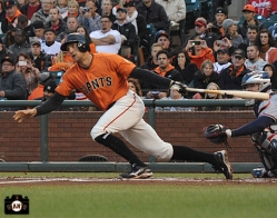 San Francisco Giants, S.F. Giants, photos, 2013, Hunter Pence