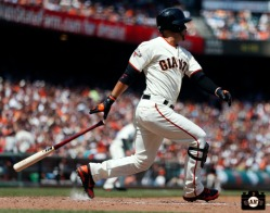 San Francisco Giants, S.F. Giants, photos, Gregor Blanco, 2013