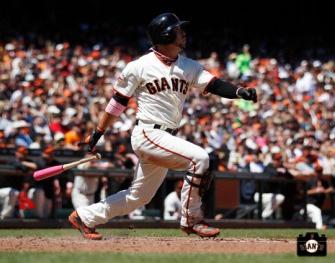 San Francisco Giants, S.F. Giants, photo, 2013, Gregor Blanco