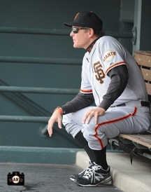 may 19, 2013, sf giants, photo, high socks, dugout, colorado rockies