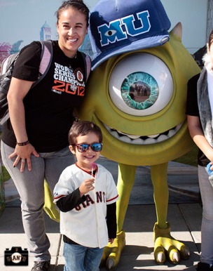San Francisco Giants, S.F. Giants, photo, 2013, Pixar, James P. Sullivan