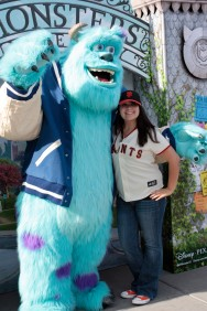 San Francisco Giants, S.F. Giants, photo, 2013, Pixar, Mike Wazowski