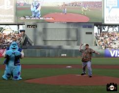 San Francisco Giants, S.F. Giants, photo, 2013, Pixar, John Lassester, Mike Wazowski