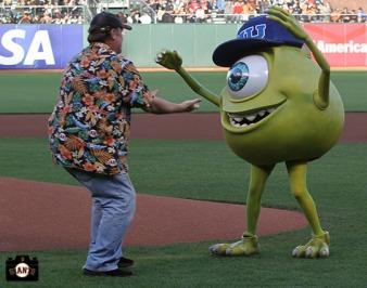 San Francisco Giants, S.F. Giants, photo, 2013, Pixar, John Lassester, James P. Sullivan