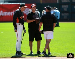 San Francisco Giants, S.F. Giants, photo, 2013, Ball Dude, Giants Community Fund, Bill Laskey