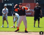 San Francisco Giants, S.F. Giants, photo, 2013, Ball Dude, Giants Community Fund