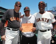San Francisco Giants, S.F. Giants, photo, 2013, Ball Dude, Giants Community Fund, Bill Laskey, Rich Murray
