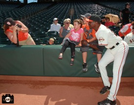 San Francisco Giants, S.F. Giants, photo, 2013, Ball Dude, Giants Community Fund, Rich Murray