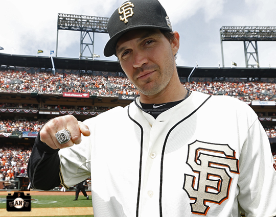 barry zito, 2013 sf giants, 2012 world series, ring ceremony