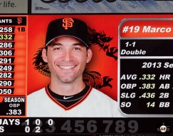 San Francisco Giants, S.F. Giants, photo, 2013, Bruce Lee, Marco Scutaro