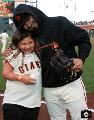 San Francisco Giants, S.F. Giants, photo, 2013, Bruce Lee, Sergio Romo