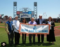 CHRISTY DUNCAN-ANDERSON, ROBERT EDWARDS, MICHAEL MILKEN, TOMMY LASORDA, june 5, 2013, sf giants, photo, paula abdul,