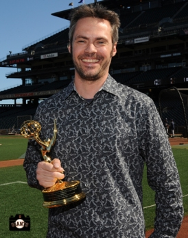 sf giants, photo, 2013 Emmy Awards, dan peterson