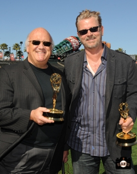 sf giants, photo, jon miller, jeff kuiper, 2013 Emmy Awards,