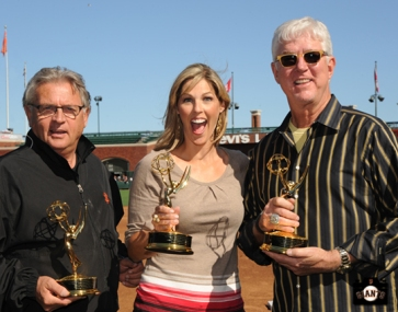 sf giants, photo, 2013 Emmy Awards, duane kuiper, mike krukow, amy g