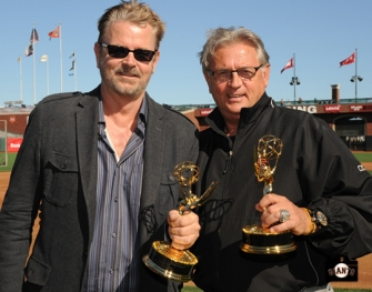 sf giants, photo, 2013 Emmy Awards, jeff kuiper, duane kuiper
