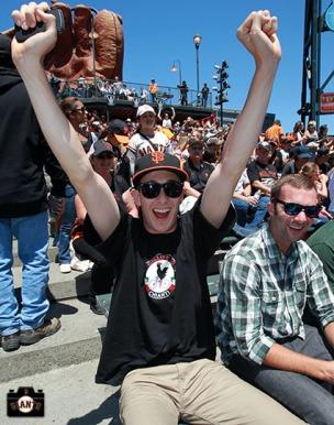 San Francisco Giants, S.F. Giants, photo, 2013, fans