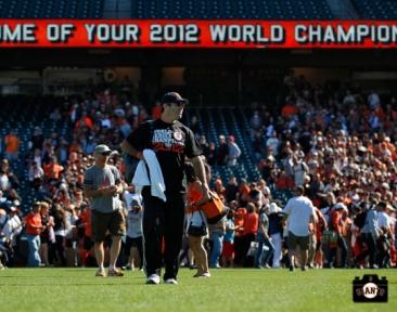 june 22, 2013, sf giants, photo, season ticket member appreciation day, fans,