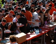 june 22, 2013, sf giants, photo, season ticket member appreciation day, fans,