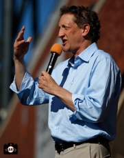 larry baer, june 22, 2013, sf giants, photo, season ticket member appreciation day, fans,