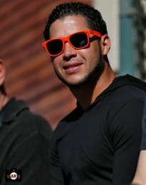gregor blanco, june 22, 2013, sf giants, photo, season ticket member appreciation day, fans,