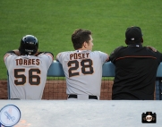 Andres Torres, Buster Posey & BamBam Meulens