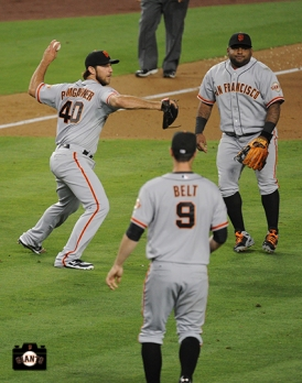 june 24, 2013, sf giants, photo, brandon belt, pablo sandoval