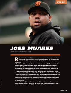 jose mijares, giants magazine, 3, 2013, june,